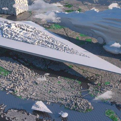 Raumschiffe aus Serien und Filmen in 3D im Größenvergleich