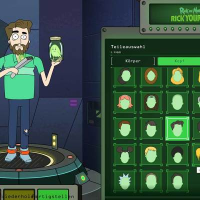 "Rick Yourself: Macht euren eigenen ""Rick and Morty""-Charakter!"