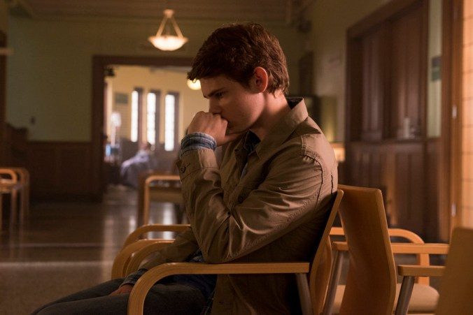 "HEROES REBORN -- ""The Needs of Many"" Episode 104 -- Pictured: Robbie Kay as Tommy Clark -- (Photo by: Christos Kalohoridis/NBC)"