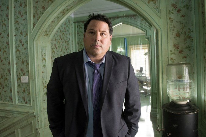 "HEROES REBORN -- ""11:53 To Odessa"" Episode 110 -- Pictured: Greg Grunberg as Matt Parkman -- (Photo by: Christos Kalohoridis/NBC)"