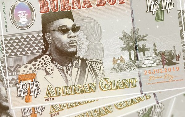 Burna Boy African Giant Zip Download