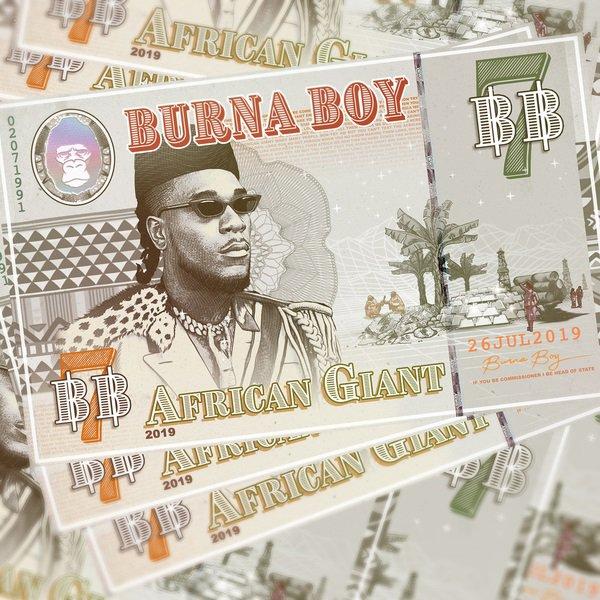 Burna Boy African Giant Zip File Download