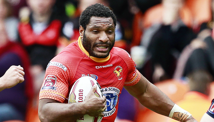PNG winger joins Castleford