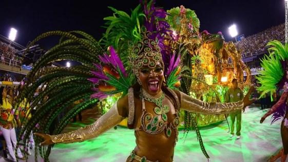 o samba do Brasil é imensamente popular em todo o mundo