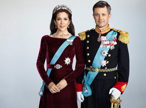 Princess Mary, the wife of Danish Crown Prince Frederik ...