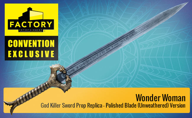 What Can Marketers Learn from the Comic-Con Exclusives Strategy? Wonder Woman God Killer Sword.