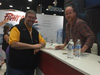 Dan and Joss Whedon at San Diego Comic-Con