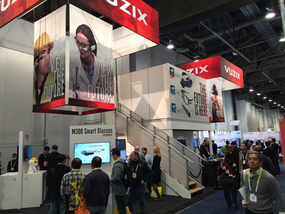 VR 2025 - Vuzix at CES 2016