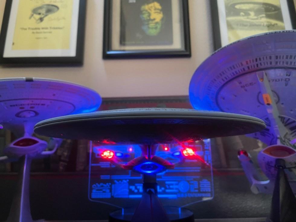 Star Trek Enterprise-D Bluetooth Speaker as collectable