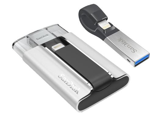 SanDisk iXpand Flash Drive comparison