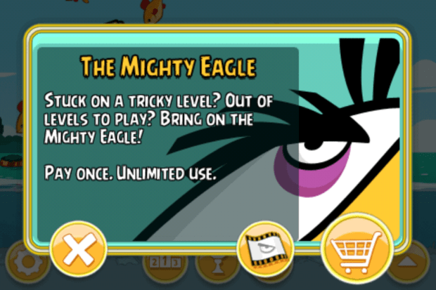 The first in-app purchase was simple. In-app purchases inside Angry Birds games are now out of control.