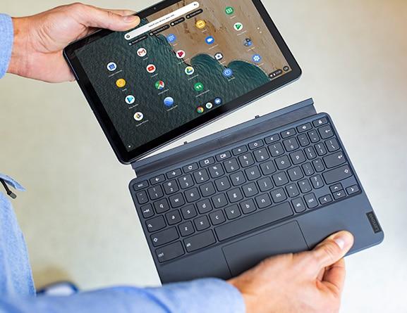 Lenovo Chromebook Duet 2-in-1 detachable keyboard
