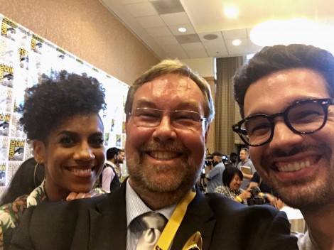 Daniel W. Rasmus Comic-Con Selfies