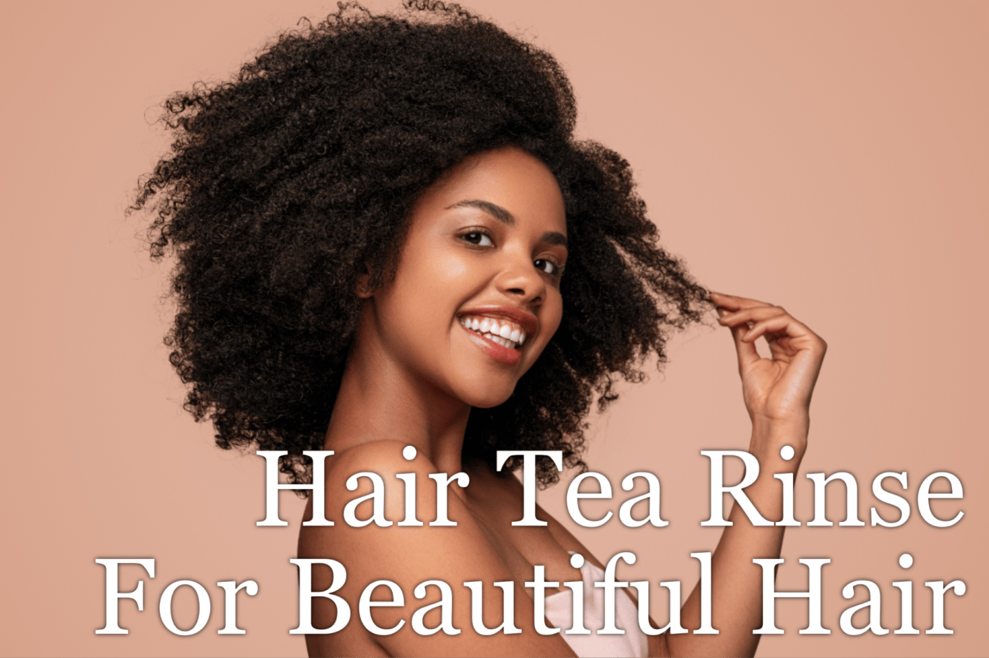 Using a hair tea rinse is one of the best ways to combat hair shedding, ddryness and even keeping your hair color vibrant. The uses are vast and worth it!