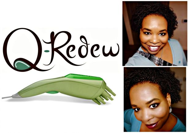 Here's A Great Hair Steamer, The Q Redew, Curly Hair Tool You Need! Add moisture, elasticity and strength to your dry hair this fall and winter!