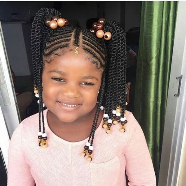 Back To School Hairstyles For Your Little Natural Girl