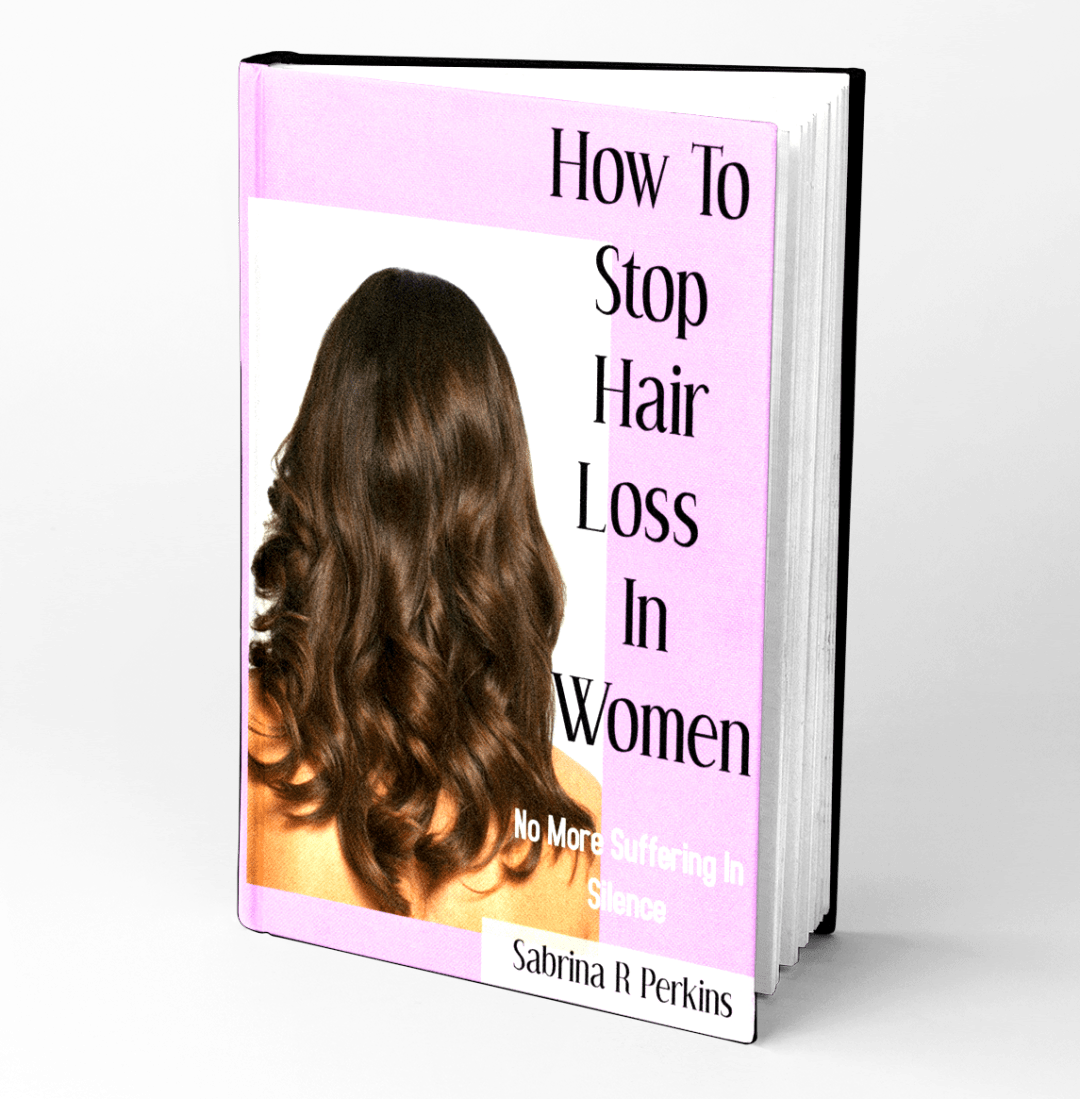 FREE BOOK – My Book On Hair Loss Is My Holiday Gift To You!
