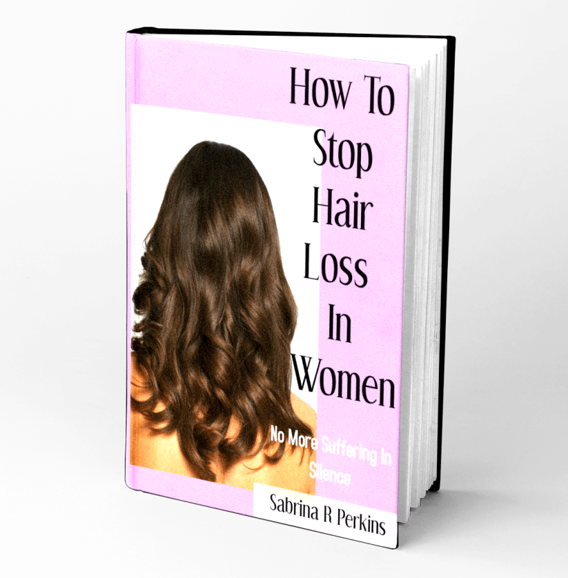 Free Book for you! It's the start of the holidays and I wanted to share my popular Kindle, How To Stop Hair Loss In Women: No More Suffering In Silence.