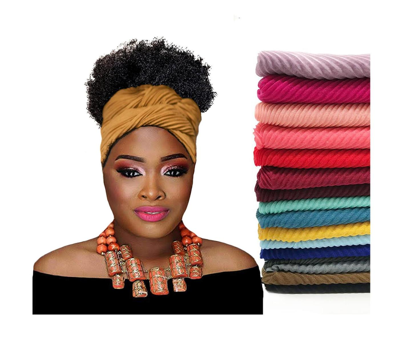Hot Summer Head Wraps For Perfect Natural Hair