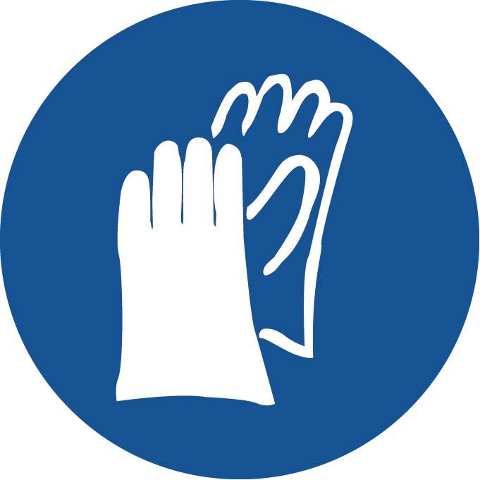 Port des gants Image
