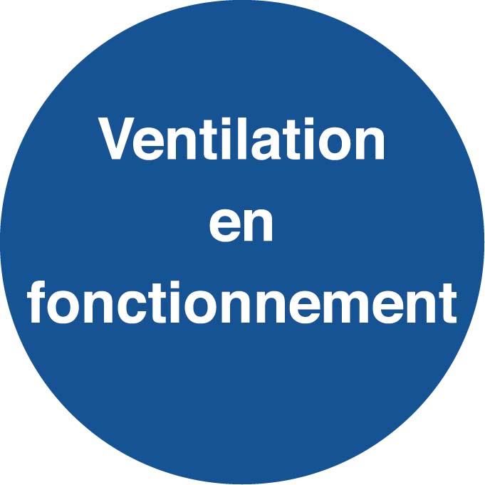 Ventilation en fonctionnement Image