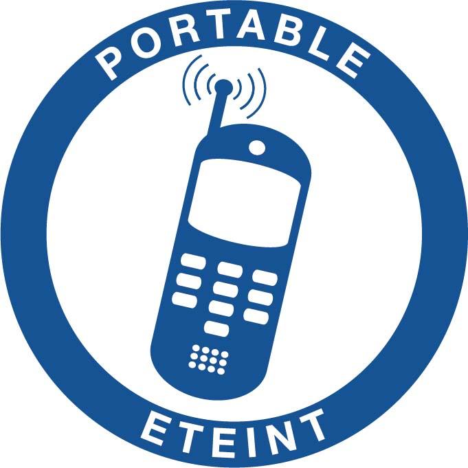 Portable éteint Image