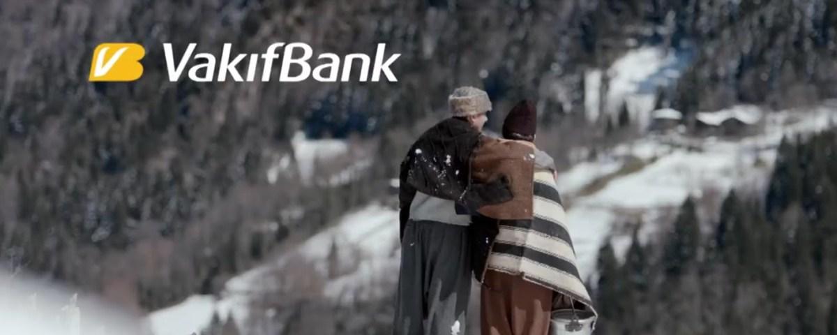 """Vakıf Bank """"Halden anlamayı sizden öğrendik"""" reklamı"""