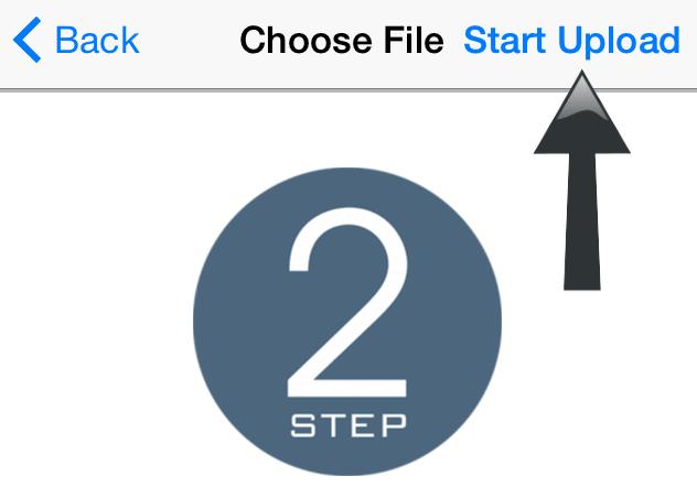iphone uploads-start