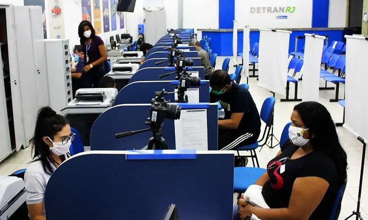Detran RJ reabriu 38 postos de identificação civil desde a última ...