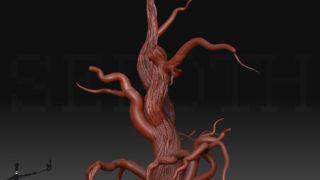 Modelisation 3D – Arbre Zbrush