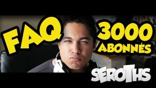 F.A.Q. | La Spéciale 3000 Abonnés
