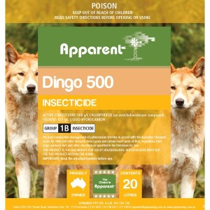 Apparent Dingo (Chlorpyrifos) 1 Lt