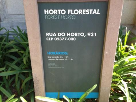Foto: Conceição Aparecida Santos, 13/08/16, Horto Florestal, zona norte, São Paulo