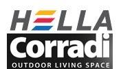 Hella acquisice Corradi Outdoor Living Space. Programmate ... on Corradi Living Space id=86940