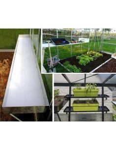 pour serre de jardin en verre