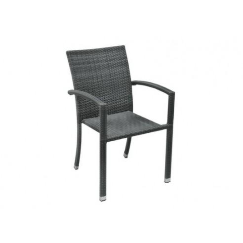 fauteuil de jardin tango en resine tressee proloisirs