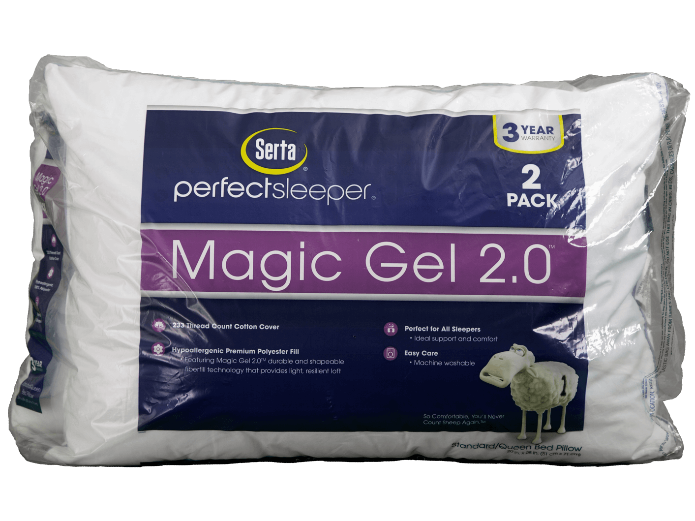 magicgel 2 0 pillow 2 pack