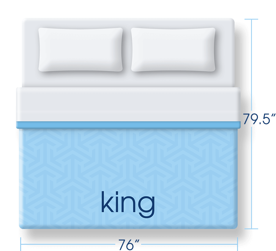 King Size Mattress Dimensions Serta Comfort 101