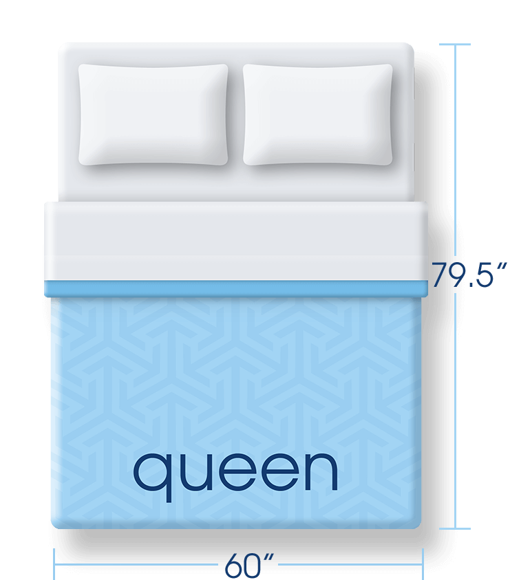 queen size mattress dimensions serta