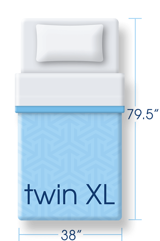 Mattress Size Twin Xl Png