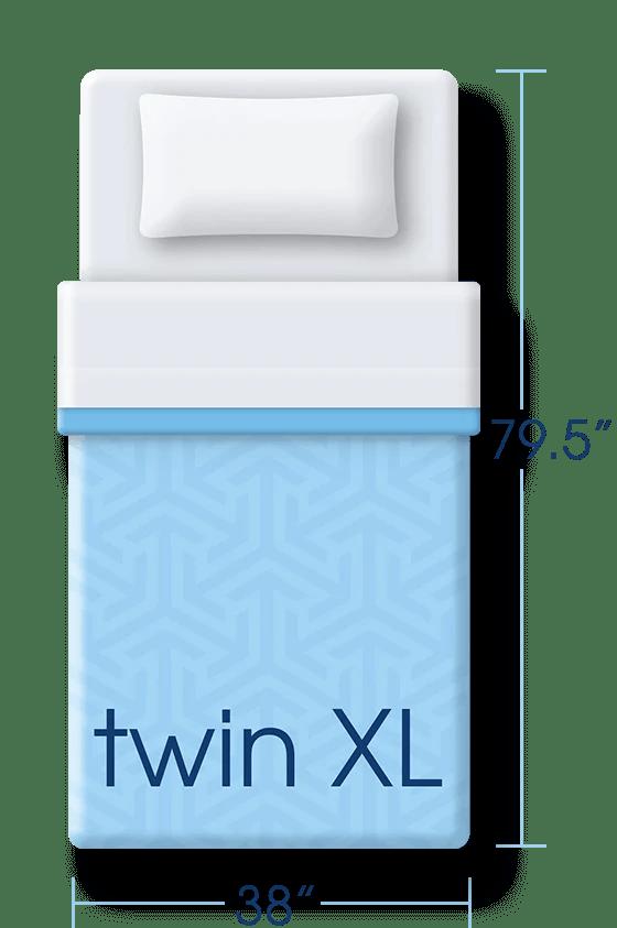 Twin Xl Mattress Dimensions Serta Comfort 101
