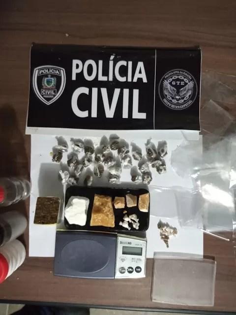 GTE de Cajazeiras estoura boca de fumo e apreende menor de 16 anos suspeito de ser dono do ponto de Drogas