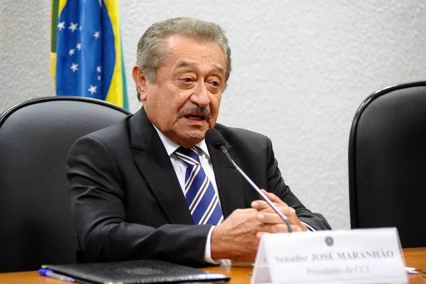 Morre senador José Maranhão, aos 87 anos de idade, em decorrência da covid-19