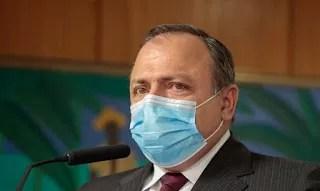 Pazuello: governo distribuirá 4,7 milhões de doses da vacina até março