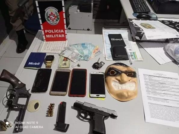 Polícia Militar da PB desarticula grupo criminoso do Maranhão, apreende armas de fogo, e captura foragido da Justiça