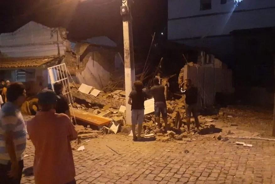 Bandidos explodem agência do Banco Bradesco na Paraíba