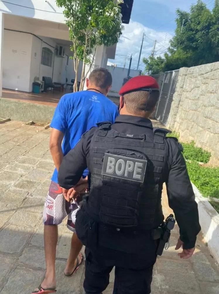 Policia Militar cumpre mandado de prisão na zona rural de São Mamede