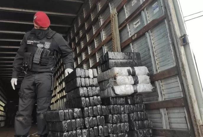 Operação da PF e Bope apreende cerca de 620 quilos de drogas no Sertão