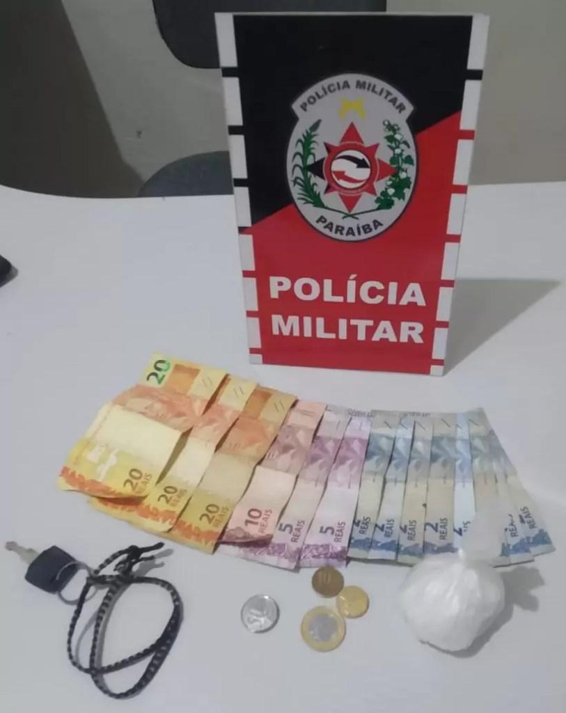 POLÍCIA MILITAR APREENDE ENTORPECENTES DURANTE OPERAÇÃO CIDADE SEGURA EM SOUSA
