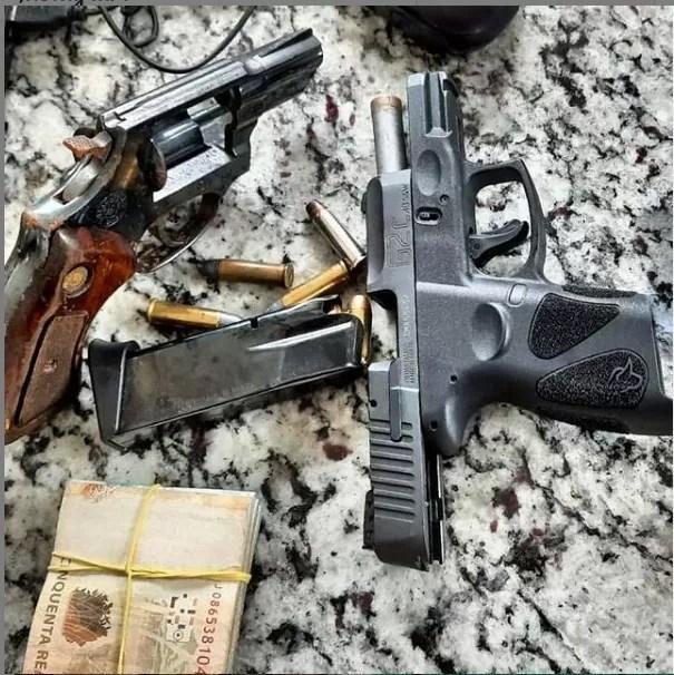 PRF continua com operação nas BR e prende homem sem porte de arma